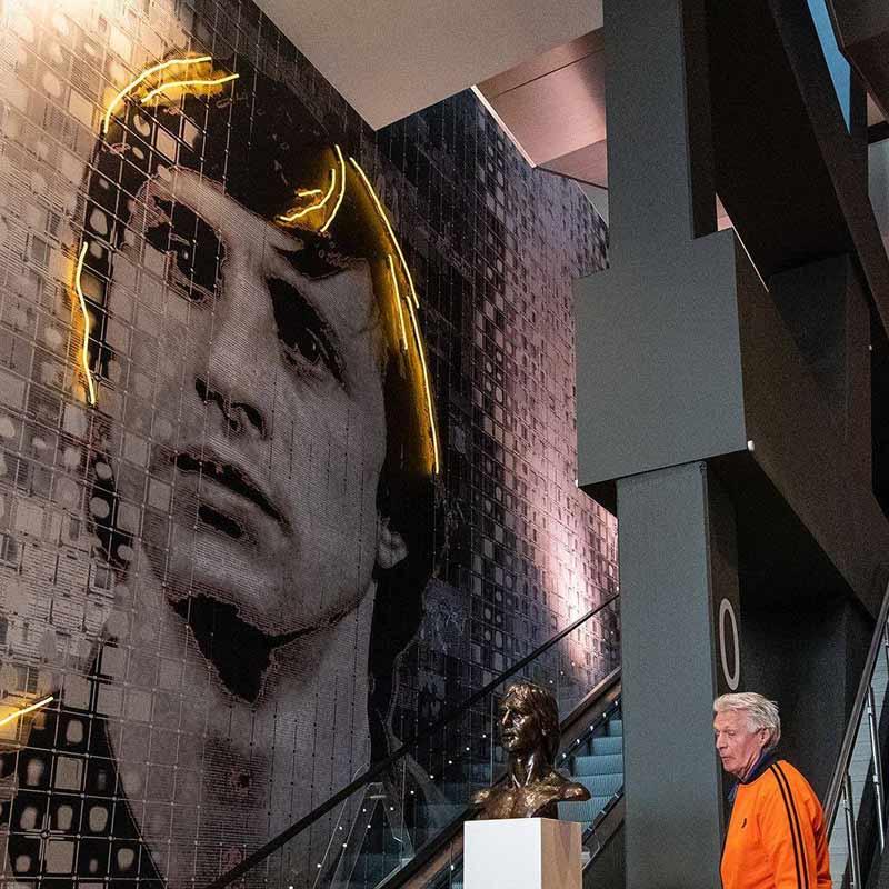johan cruyff wallcover