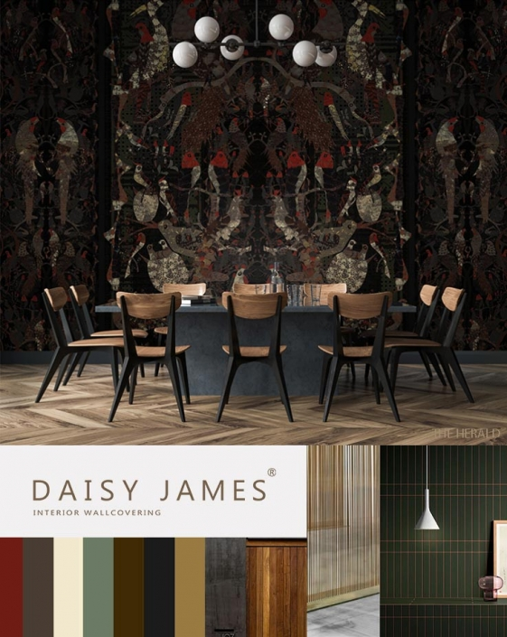 interior wallcovering daisyjames