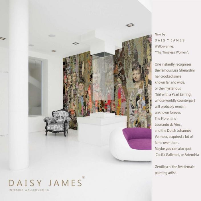 interior-wallcovering timeles women