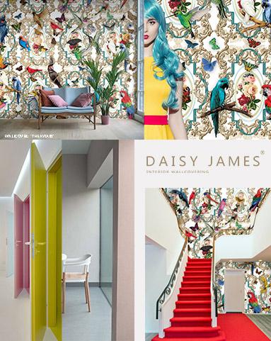 wallcover aviary daisyjames