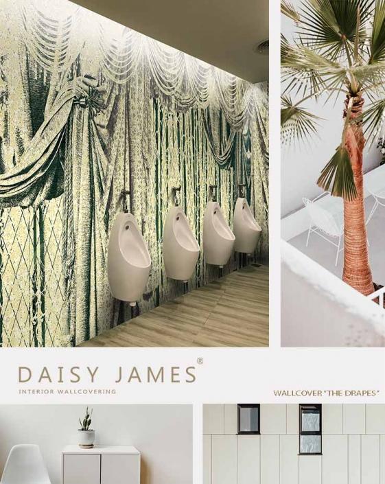 wallcover drapes daisyjames