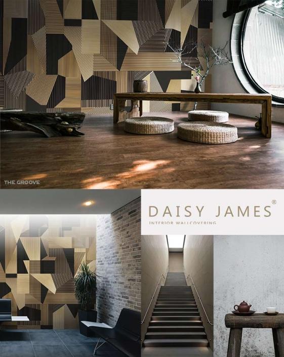wallcover groove daisyjames