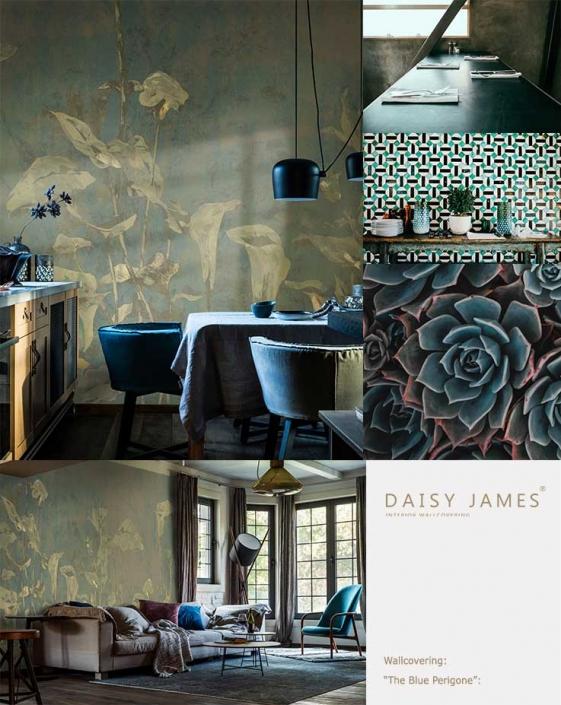 wallcover perigone daisyjames
