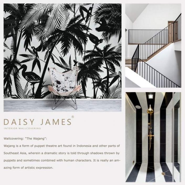 wallcover wajang daisyjames