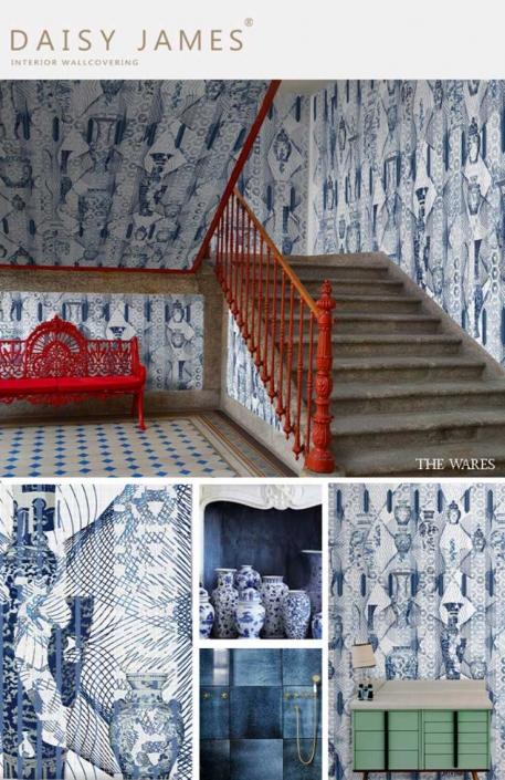 wallcover wares daisyjames