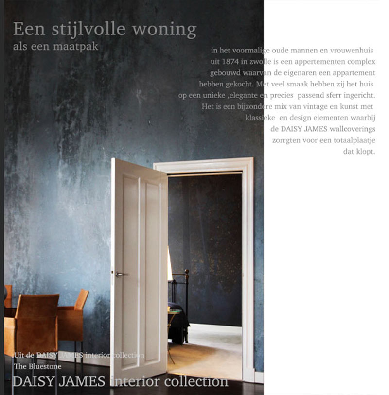 wallcovering-exclusive daisyjames bluestone
