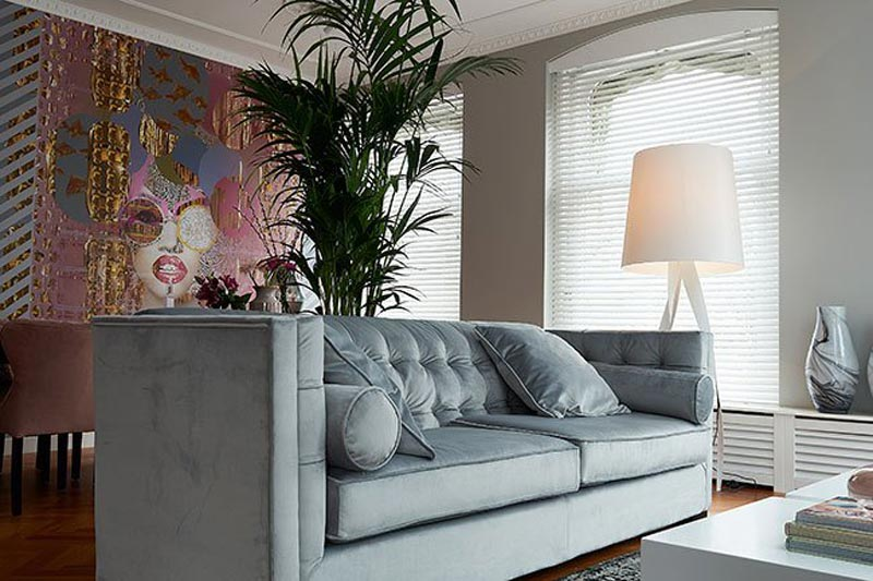 wallcovering orchid rtl woonmagazine