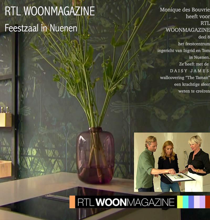 wallcovering rtl woonmagazine taman