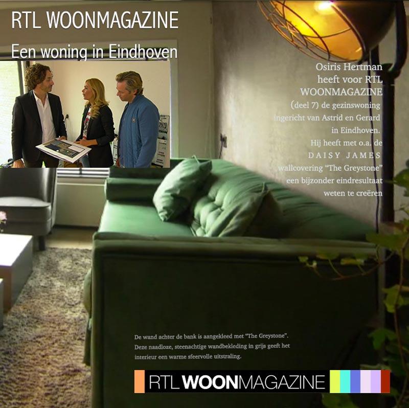 wallcovering rtl woonmagazine greystone