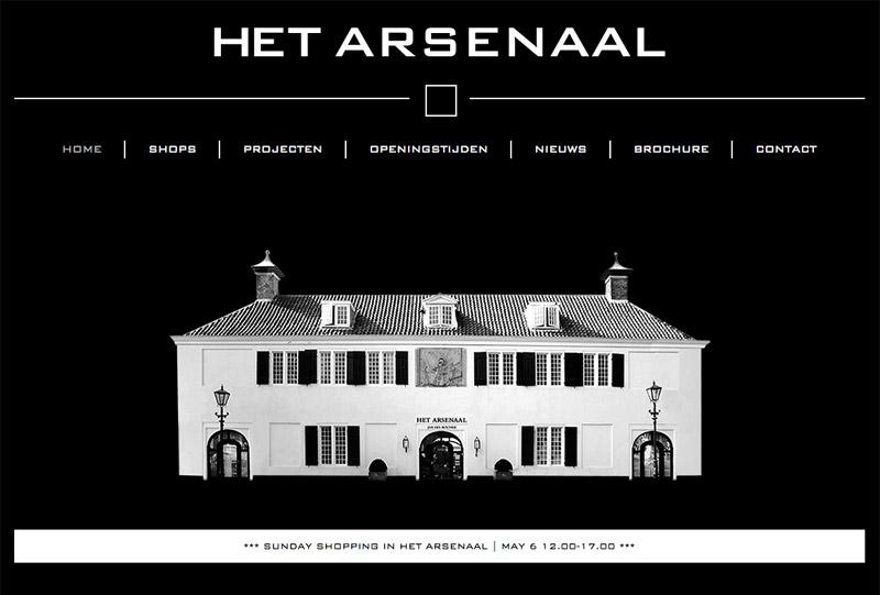 arsenaal interieur design