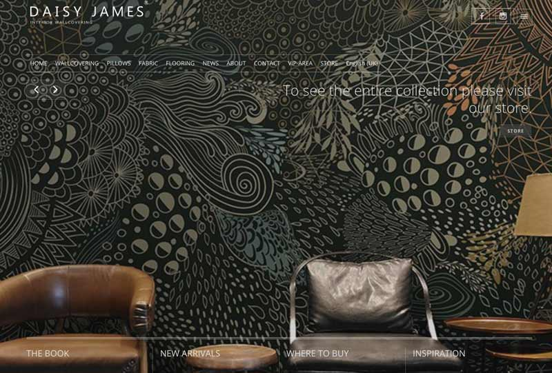 interior wall designer daisyjames